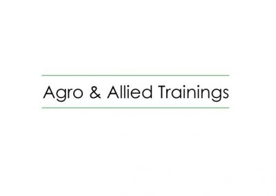 Agro & Allied Trainings