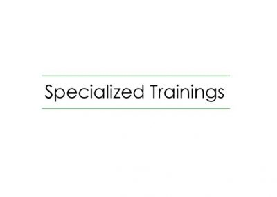 Specialized Training