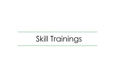 Skilled placement linked training programs