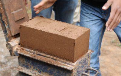 Mud Block Making