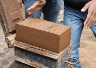 Mud Block Making